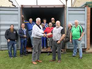 Men's shed buoyed by Rotary support