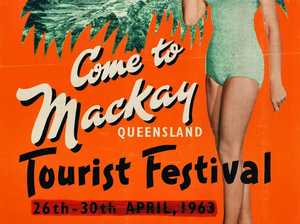 1963 Mackay tourist festival poster up for sale