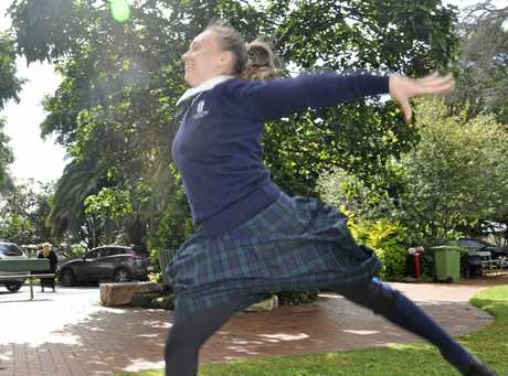 Breanna Regan will compete at the national gymnastics championships in Melbourne.