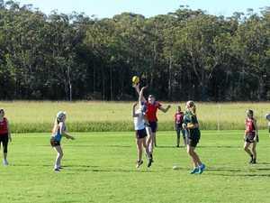 Women's footy is kicking goals