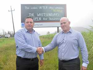 Partners send a message: visit the Whitsundays