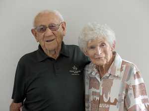 70 YEARS: Henry and Gloria go platinum