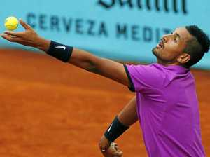 Nick Kyrgios sets up possible all-Aussie showdown in Madrid