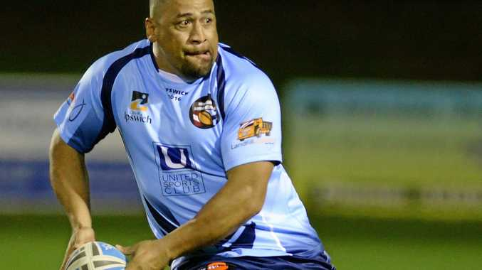 READY: Legends of League player John Hopoate has been involved for more than 10 years.