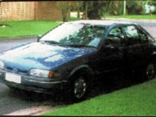 Sean Sargent's car.