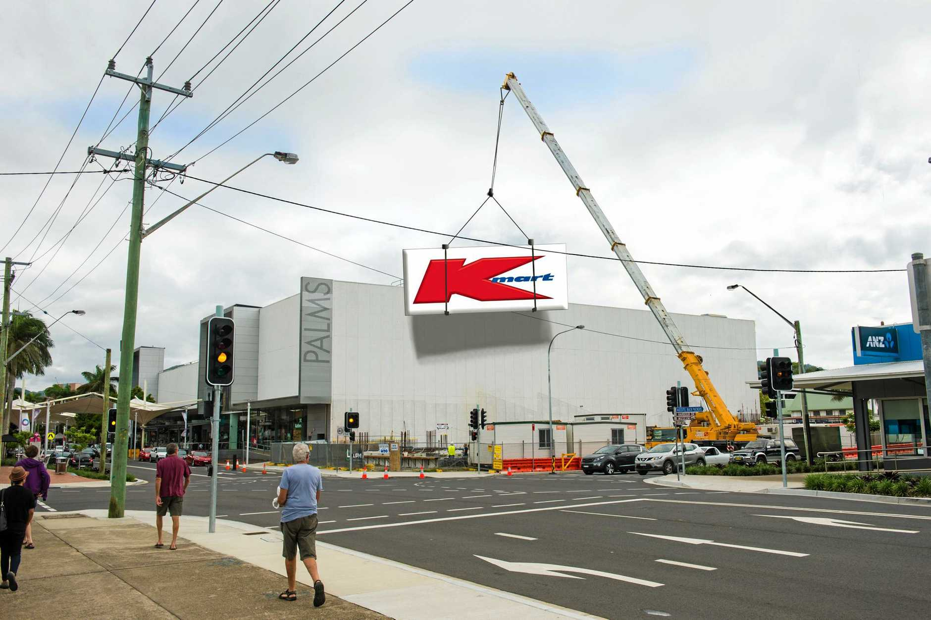 Kmart will replace Big W at Coffs Central Shopping Centre.