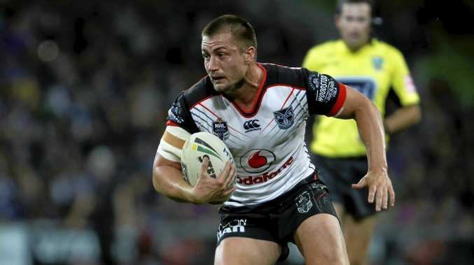 Kieran Foran of the Warriors.