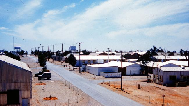 A whole town sprung up in the desert at Maralinga to support Britain's nuclear weapons program.