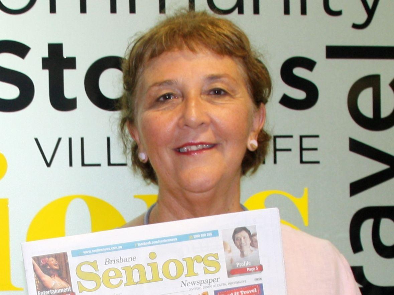 Seniors Editor, Gail Forrer.