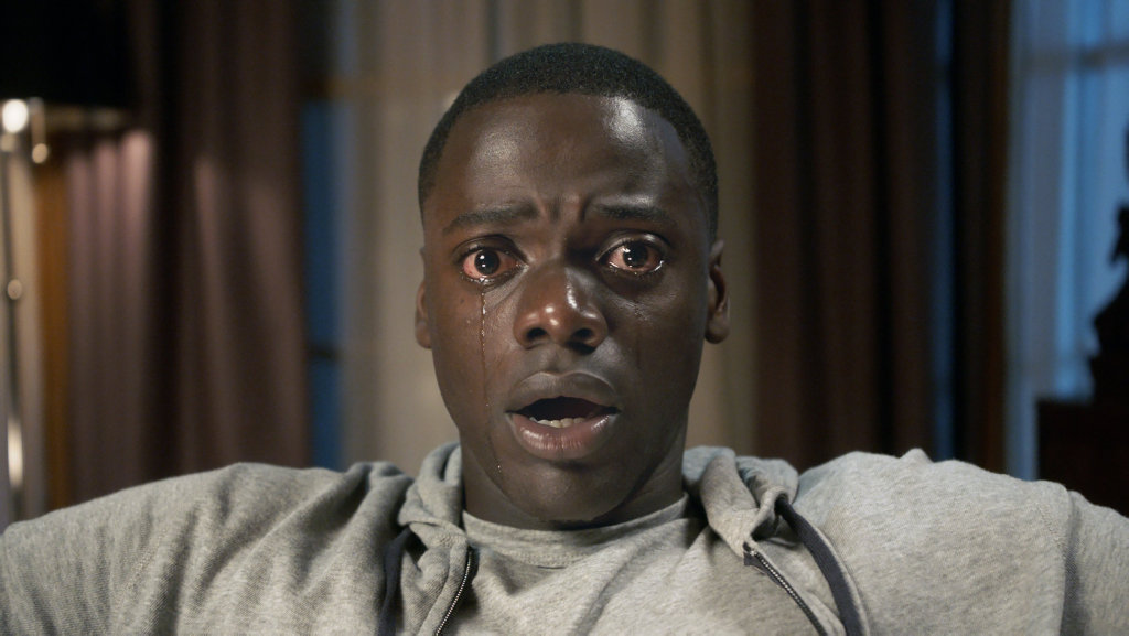 Daniel Kaluuya in a scene from the movie Get Out.