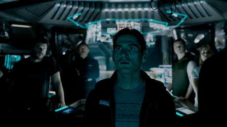 Billy Crudup in a scene from the movie Alien: Covenant.
