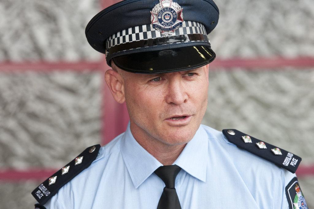 Acting Inspector Tony Neumann.
