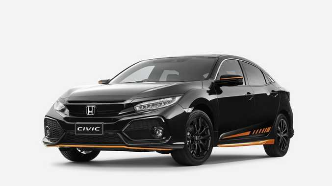 2017 Honda Civic hatch Orange Edition