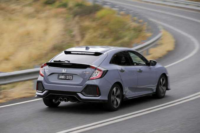 2017 Honda Civic hatch