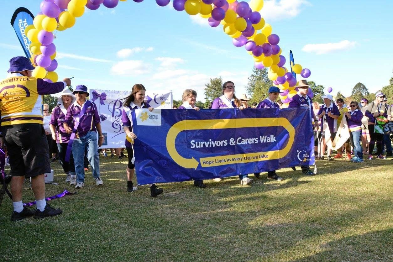 HOPE LIVES: Join cancer survivors and carers in walking the opening lap of this year's Relay for Life.