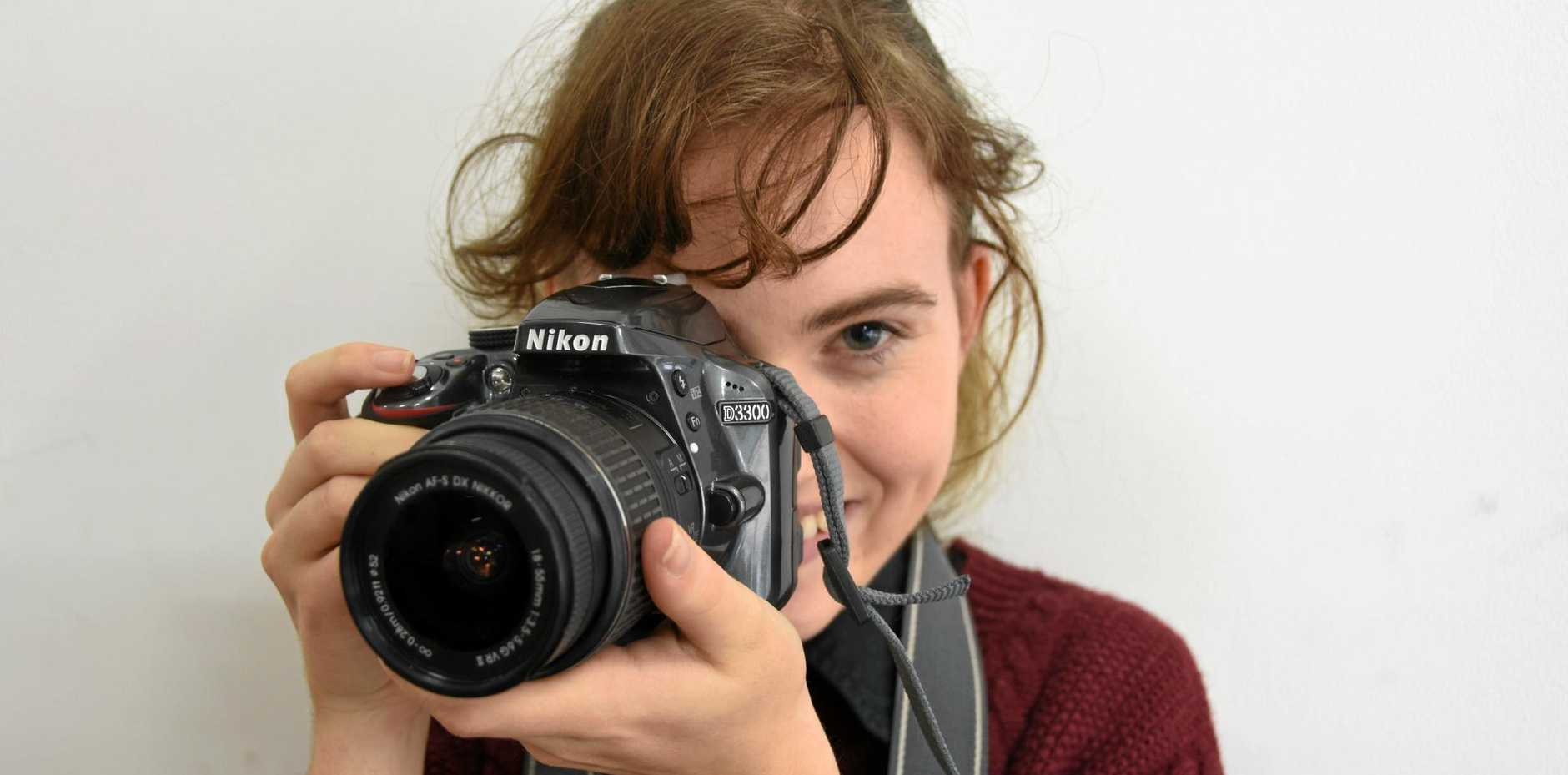 NEWSFLASH: 19-year-old Charlet Priestley wants to work in journalism and the news, preferably behind the scenes as an editor or producer.