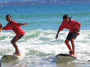 Surfing school engagement