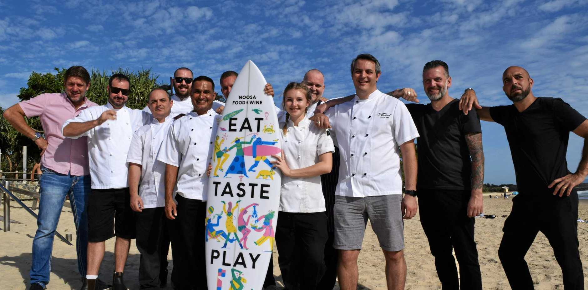 TIME TO DINE: Local chefs are gearing up for this year's Noosa Food and Wine festival.
