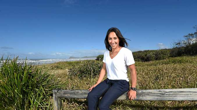 Australian aerial skier Lydia Lassila said the ski jump facility at Lennox Head will benefit the broader community.