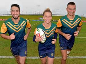 League icon inspires Aussies ahead of Trans-Tasman Series