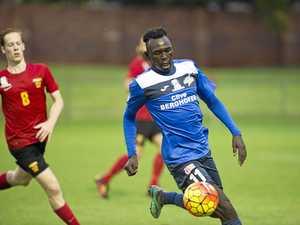 Striker's move to Tassie a blow