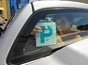 P-plate driver's defensive skills avoid crash