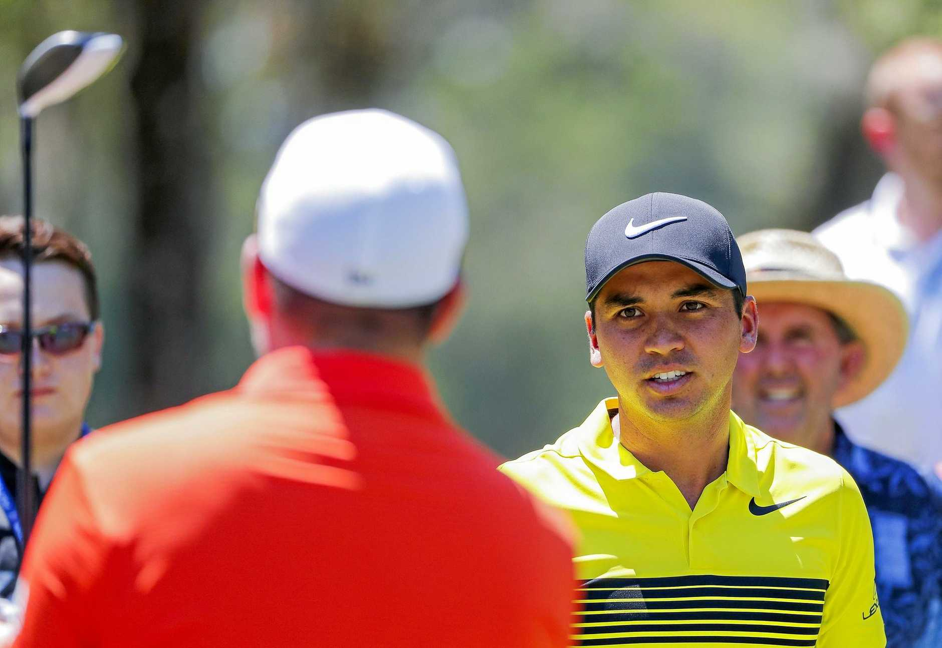 Jason Day is pictured during practice for the Players Championship at TPC Sawgrass.