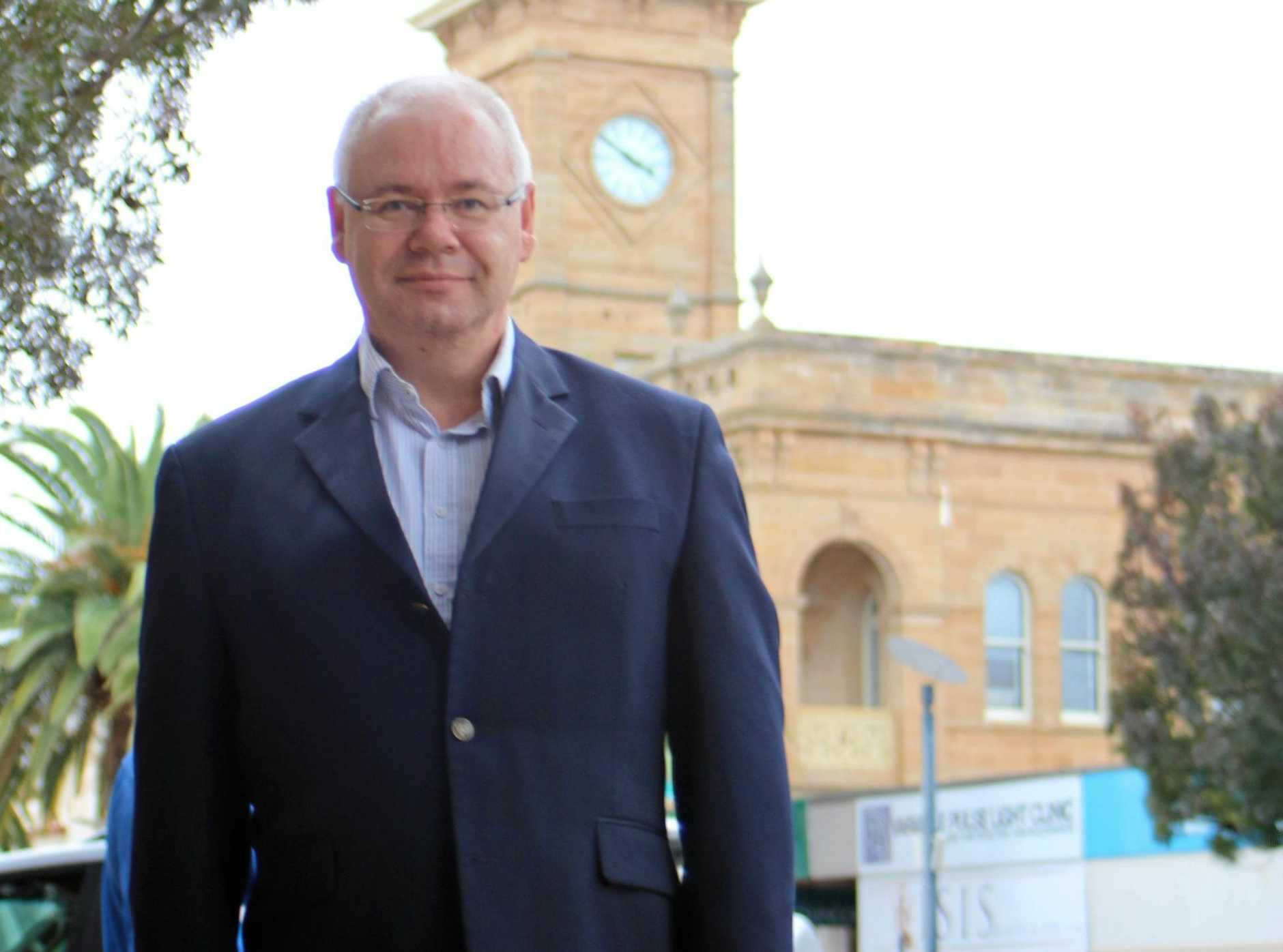STEP UP: Warwick Credit Union CEO Lewis von Stieglitz has welcomed changes in the Federal Budget that will boost small financial institutions and Warwick businesses.