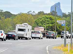 Bruce Hwy traffic crawling after crash. VIDEO: West Wide Productions