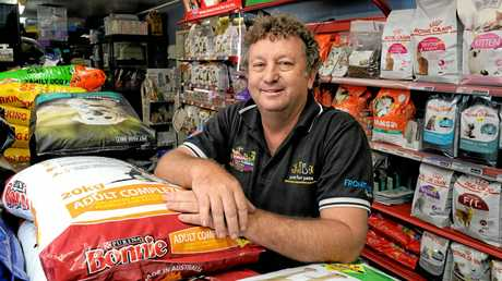 Dean Teske from Ipswich Pet and Aquarium.
