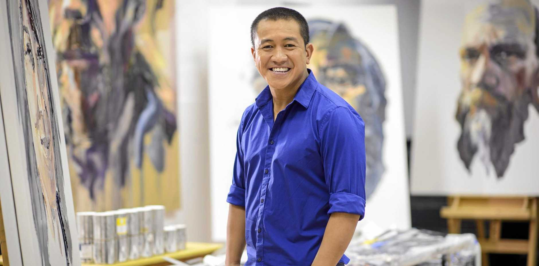 Anh Do in TV series Anh Do's Brush With Fame. Do will be performing his new show in