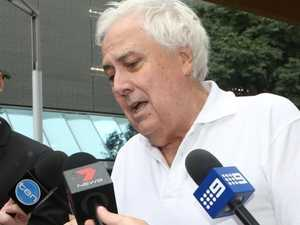 Clive Palmer grounded as liquidators come for his plane