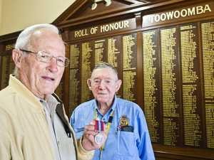 War medal back to owner