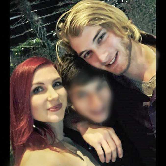 Siblings Daniel and Sarah Walker.