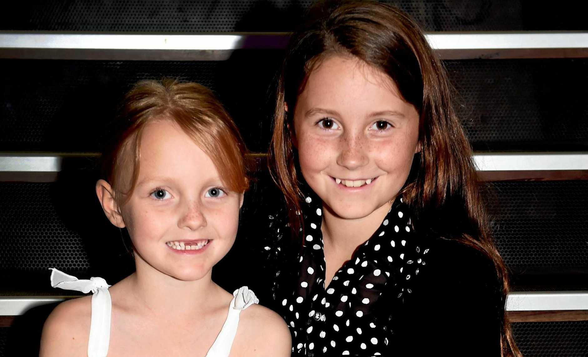 Maryborough Eisteddfod - Competing just like mum did - Jada and Ella Quinn.