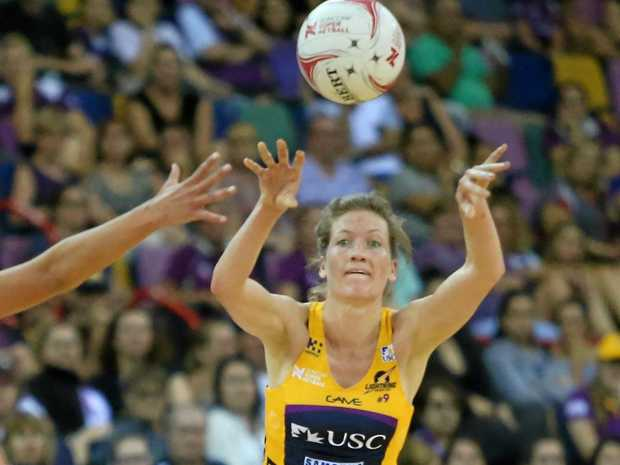 IN ACTION: Karla Mostert playing for the Sunshine Coast Lightning.