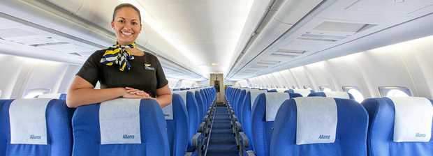 WELCOME ABOARD: Alliance Airlines is coming to Bundaberg