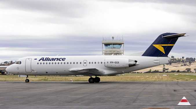 READY, JET, GO: Alliance Airlines will use the F70 jet on its Bundaberg-Brisbane service.