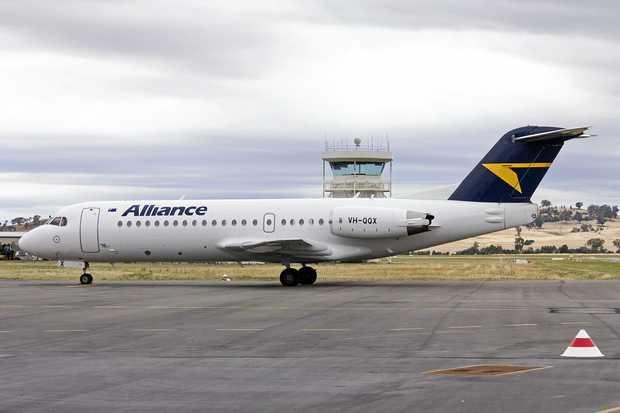 READY, JET, GO: Alliance Airlines will use the F70 jet on its Bundaberg-Brisbane service.