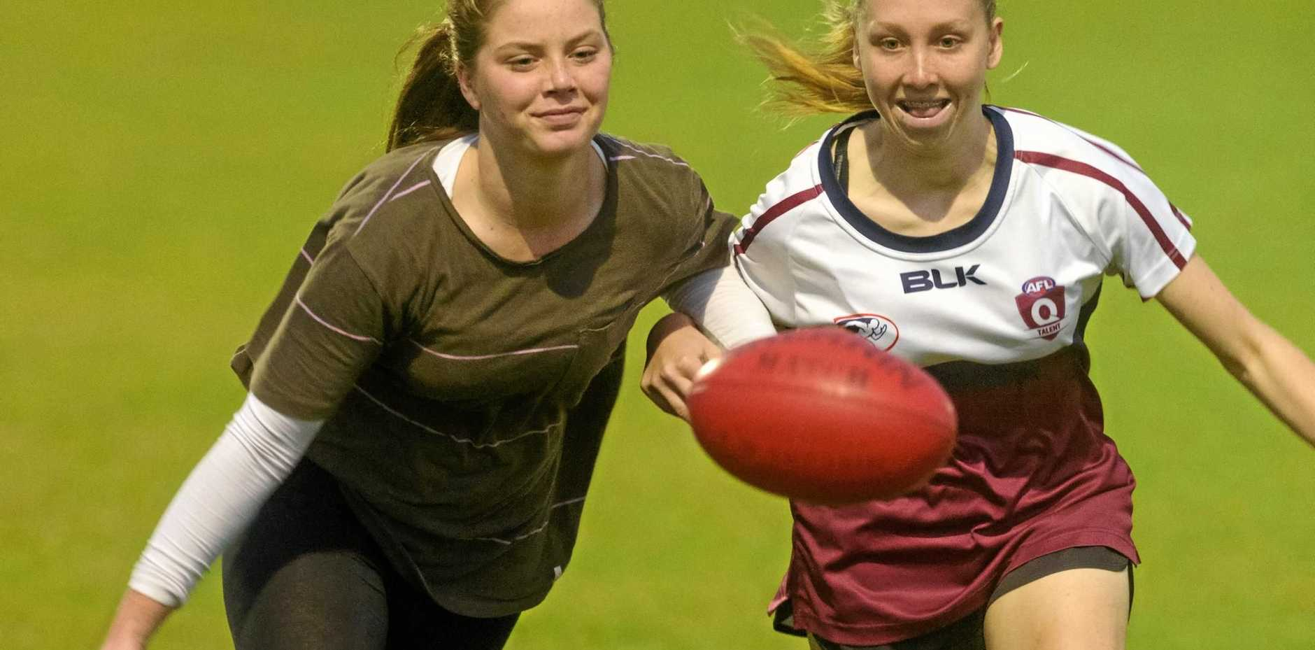Lilly Doyle and Georgia Breward will represent NSW/ACT in the upcoming youth girls national championship.