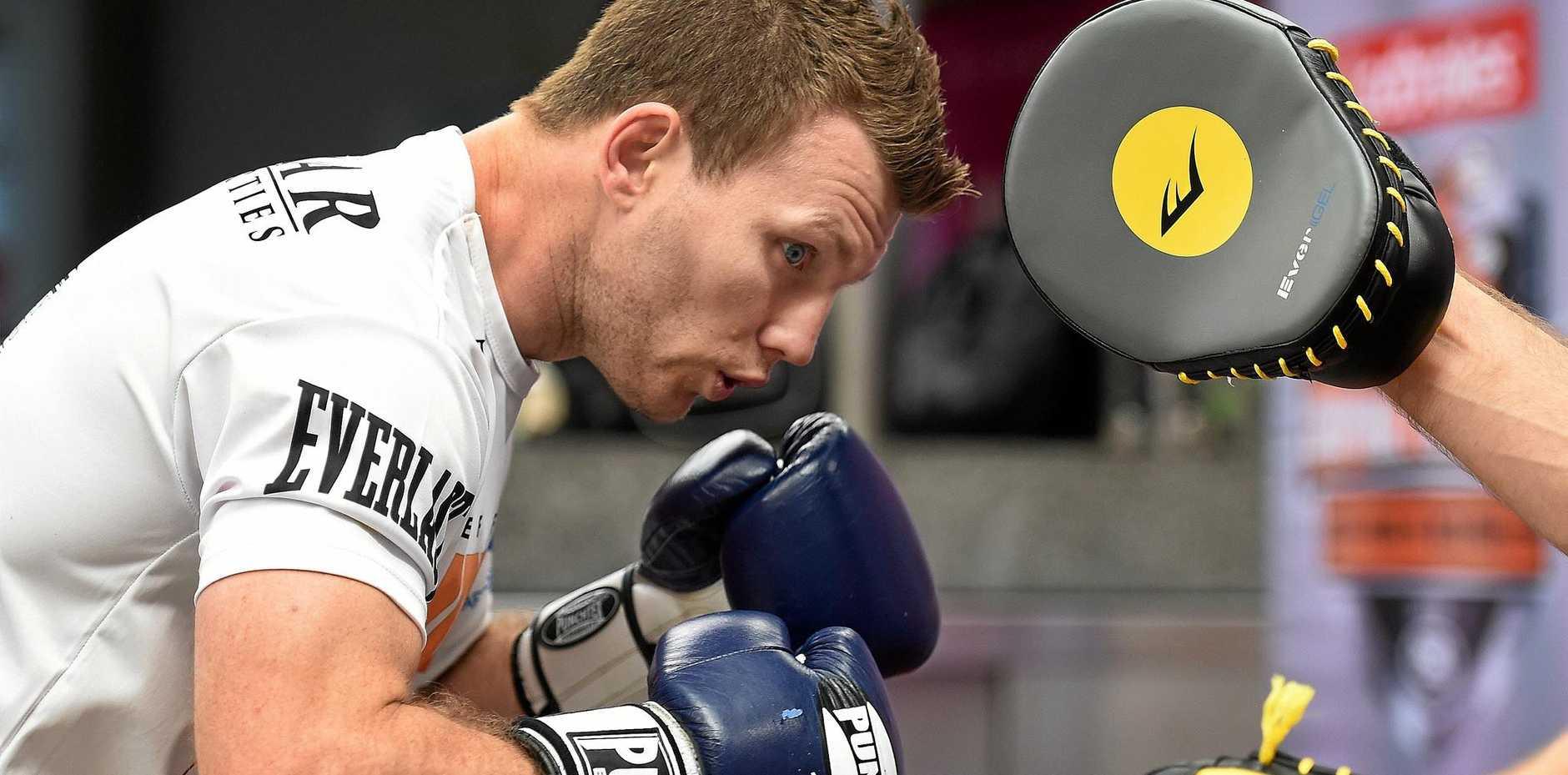 TOO POWERFUL: Former world champ John Mugabi says Australia's Jeff Horn will shock Manny Pacquaio with his strength.