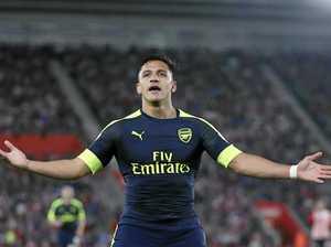 Sanchez cracker gives Arsenal Champions League boost