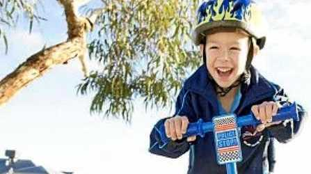 CHILDHOOD FREEDOM: Young Jack, 5, is now functioning like any other child his age thanks to the NDIS.