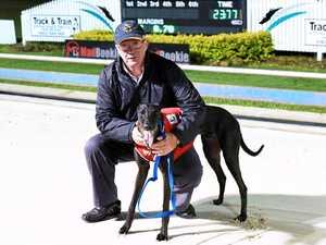Hamburger craving leads to win at greyhound track