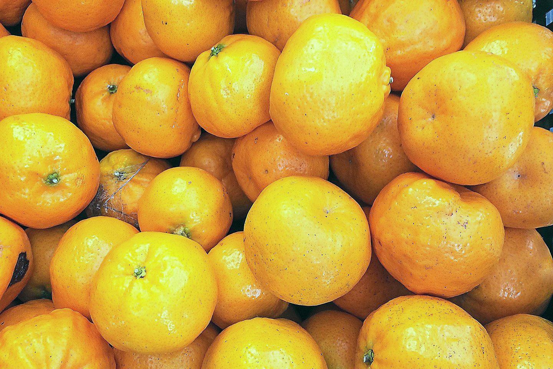 Locally-grown mandarins are now in season. PHOTO: KATE O'NEILL