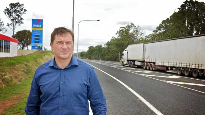 HIGHER PRIORITY: Gympie's Wide Bay federal MP Llew O'Brien says jobs and infrastructure (including the Bruce Hwy road toll) are still his main priorities, but drug testing politicians and judges should be part of our
