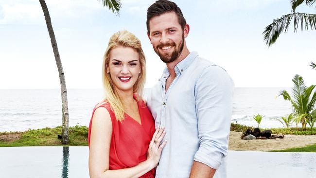 Last Resort contestants Sharday and Josh.