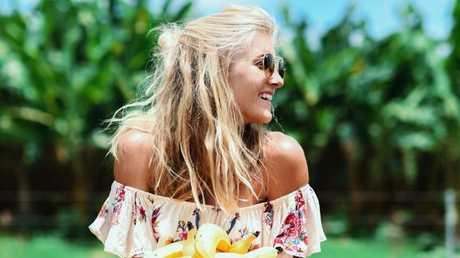 Ellie Bullen spruiks a plant-based diet