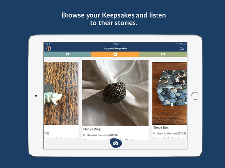 MEMORIES: Apple app Keepsake is the newest offering for people to store and share their precious memories.