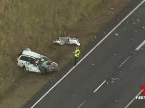 Goodna man killed in horrific head-on with truck